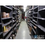 Lot of (14) sections with cable, chain, pulley, and conduit-CONTENT ONLY (Store Basement)