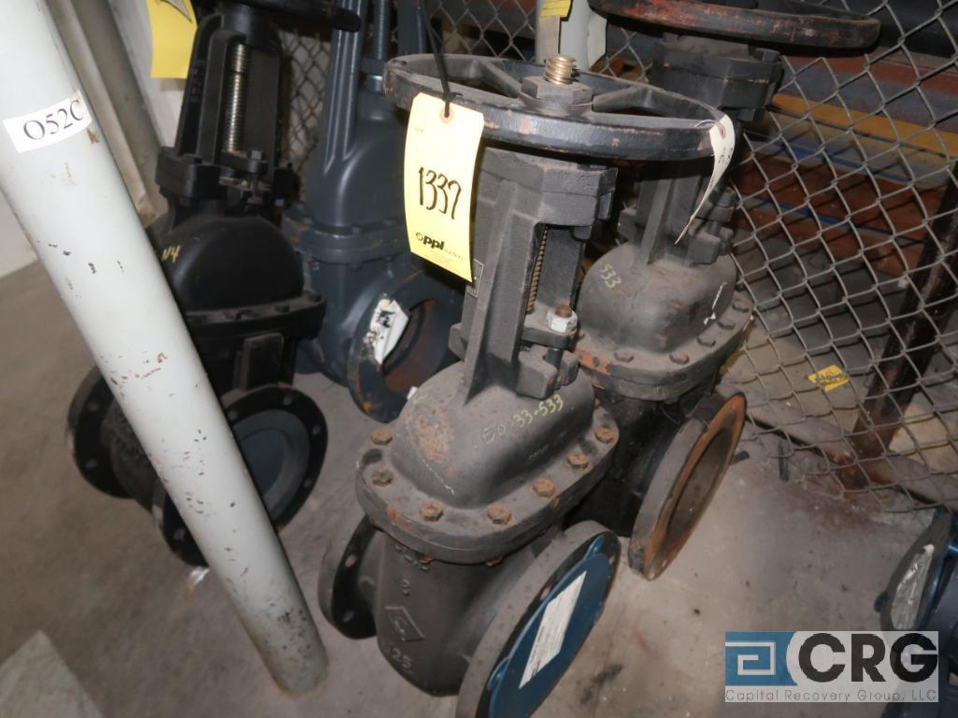 Lot of (7) ball valves, (4) 8 in., (1) 12 in., and (2) 6 in. (Store Basement) - Image 3 of 3