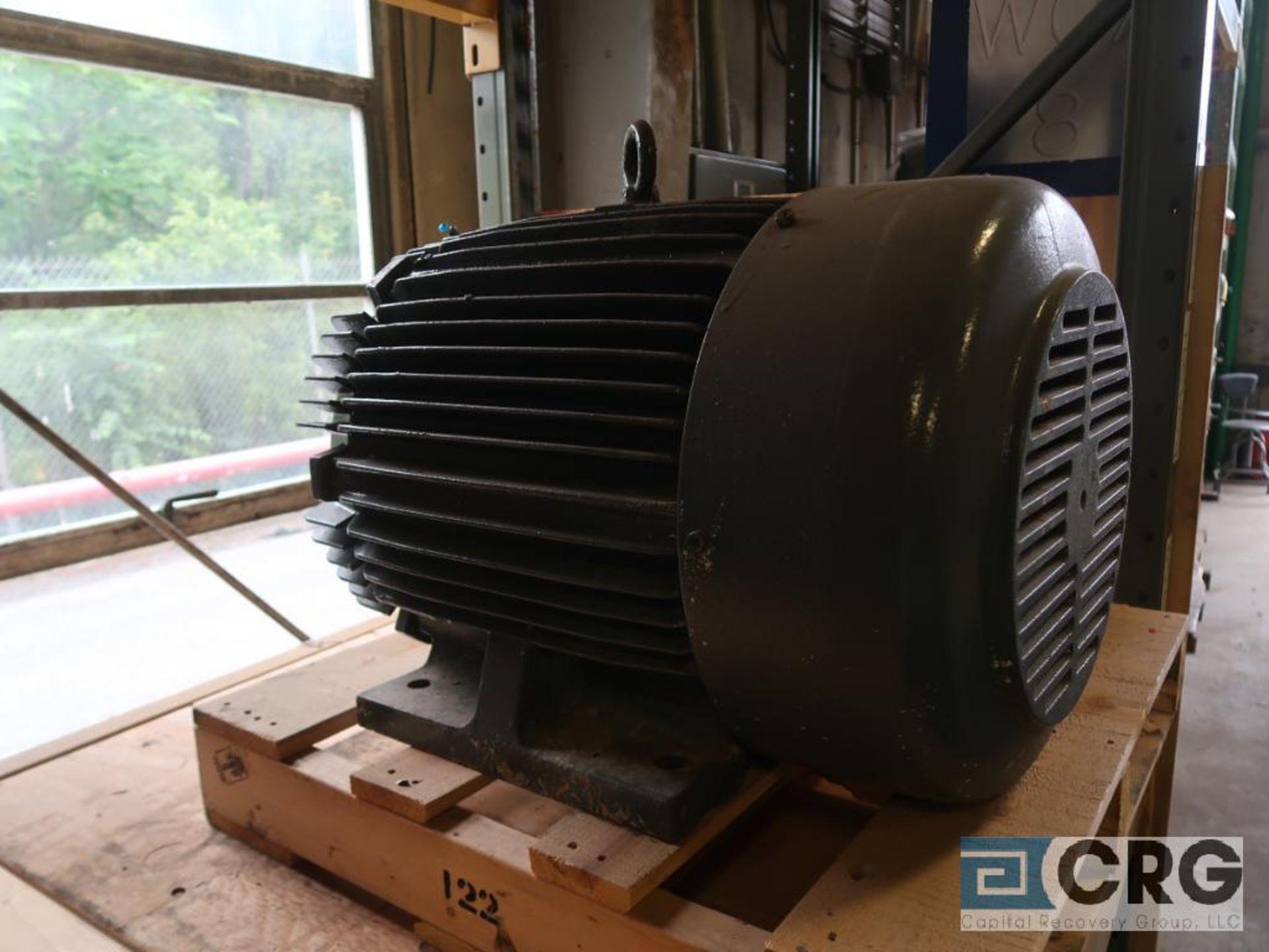 Lot of (3) assorted 30 HP motors (Motor Building)