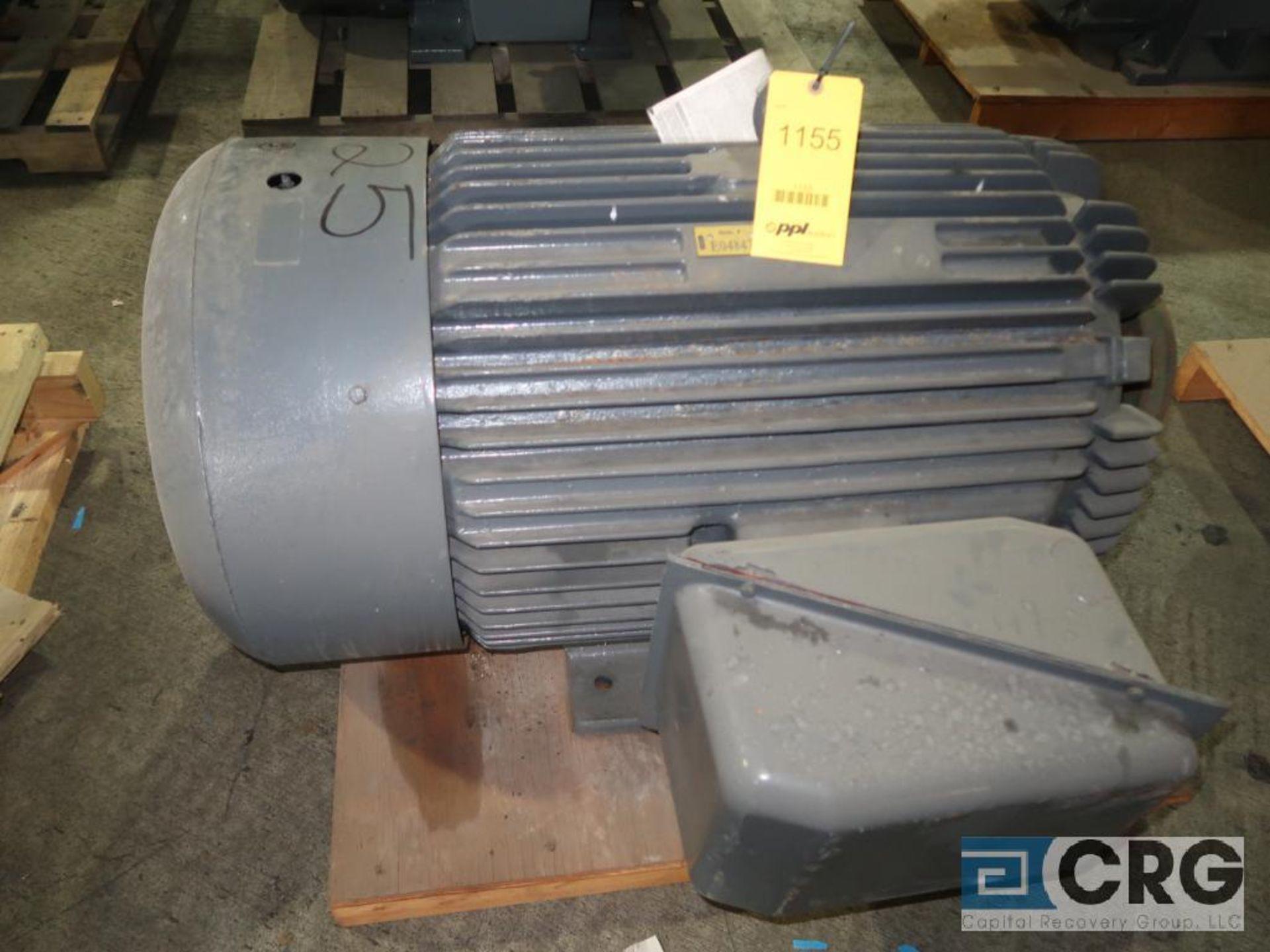 Toshiba electric motor, 125 HP, 1,770 RPMs, 230/460 volt, 3 ph., 444T frame (Finish Building)