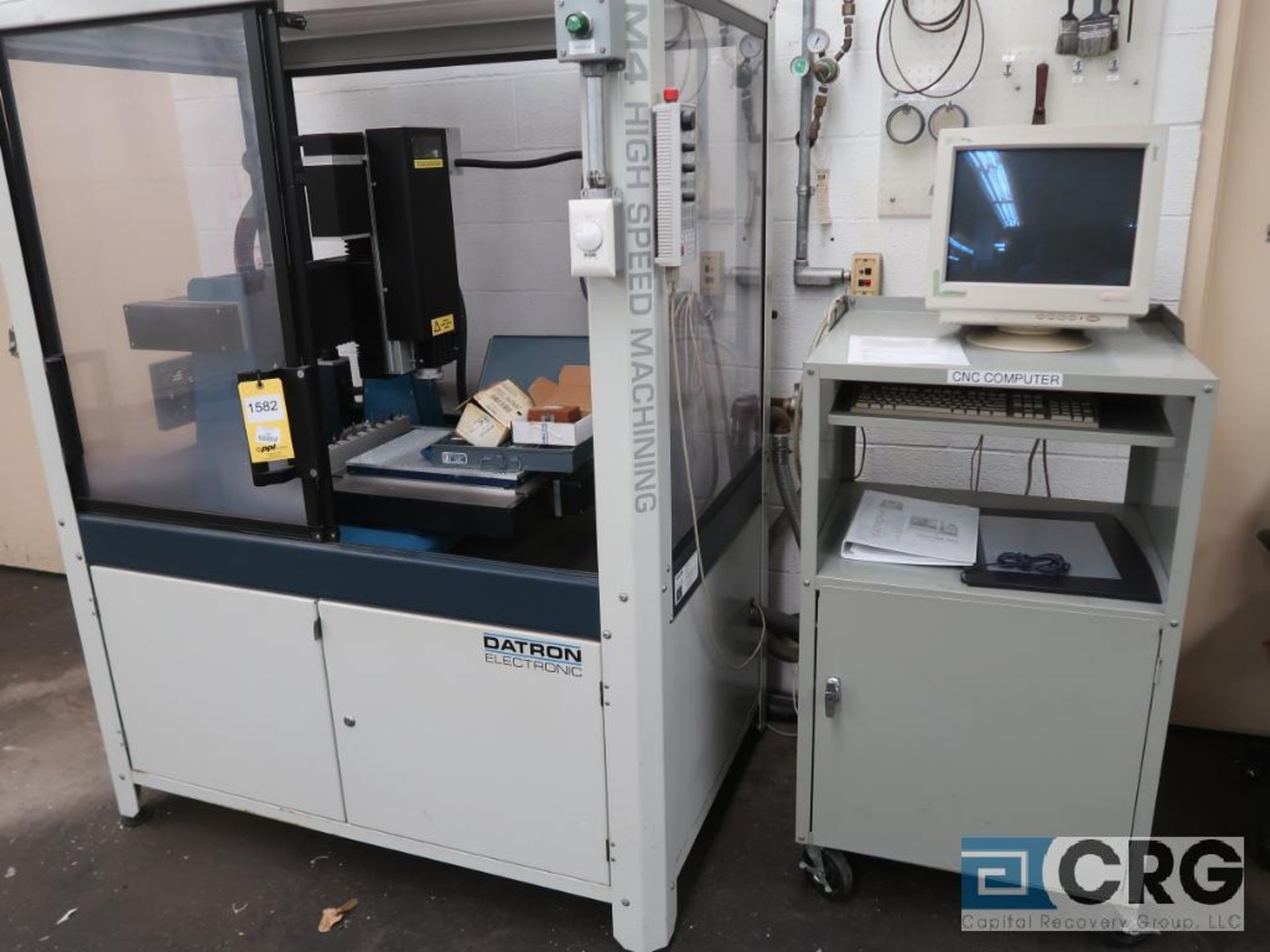 2001 Datron illing engraving center, m/n CAT3D-M4, s/n 40681, 3 axis, CNC, 9 position tool