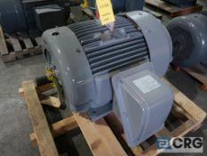 Teco Westinghouse MAX-E1 motor, 125 HP, 3,563 RPMs, 230/460 volt, 3 ph., 444 TS frame (Finish