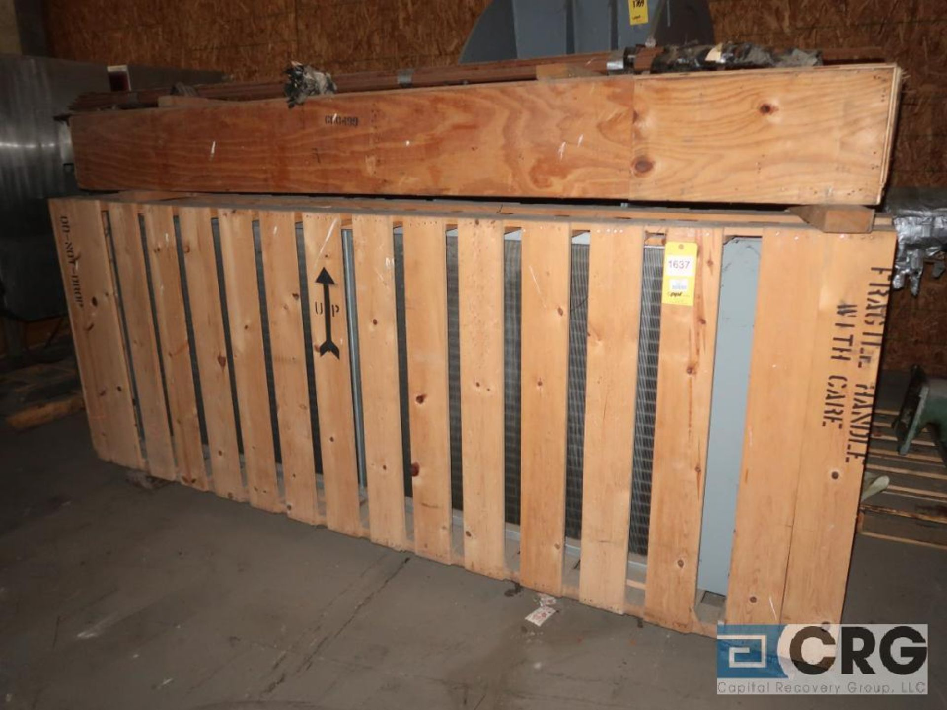 Lot of (2) steam coil/radiators (Off Site Warehouse)