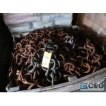 Lot of drag chain, clevis (Next Bay Cage Area)
