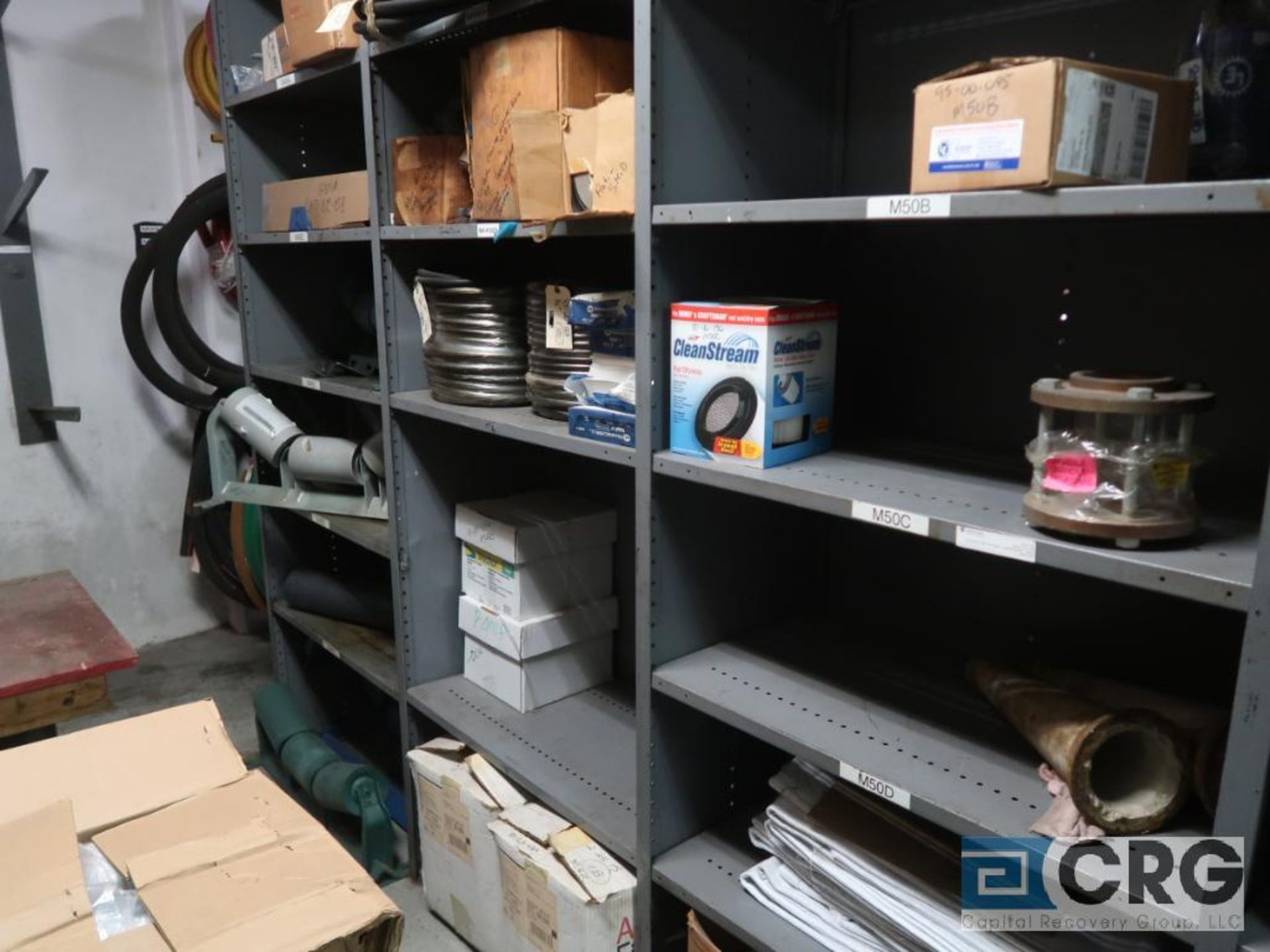 Lot of (20) sections with assorted parts including valve gasket, conveyor, roller, sight glass, - Image 9 of 12