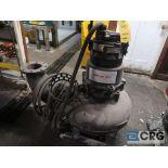 Flygt 6 in. sump pump, 460 volt (Basement Stores)