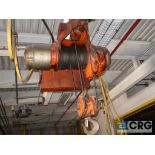 Yale electric hoist, 3 ton, hoist only, no beam (Located at Shipping Dock)