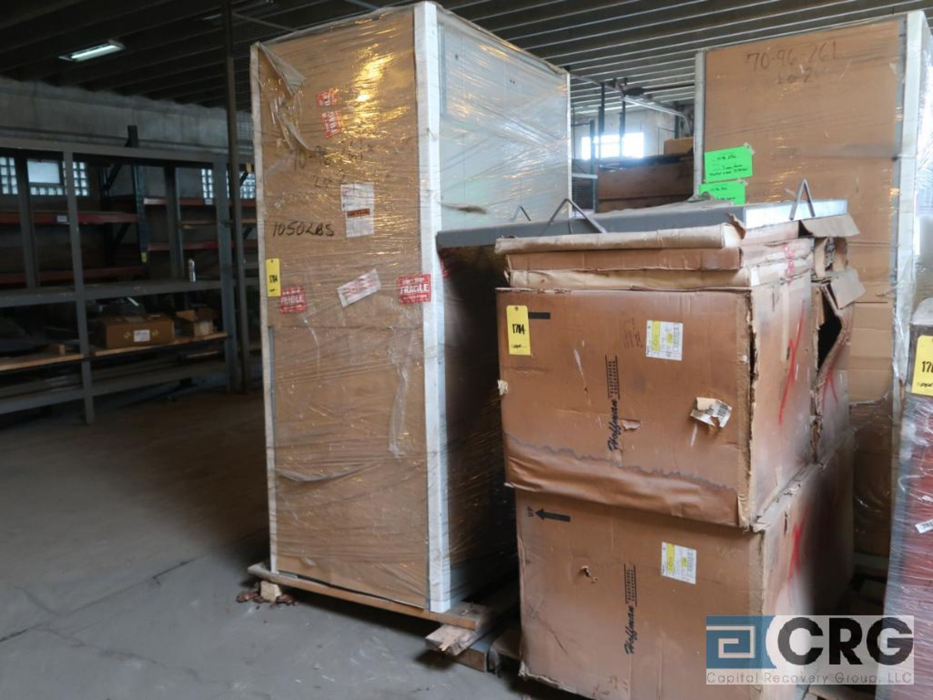 Uniclad 2000 KVA dry type transformer, 3 ph., HV 22860, BIL .125 KV, LV 480 GRDY/277 BIL. 10 KV, (5) - Image 2 of 4
