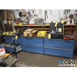 Lista 6 drawer parts cabinet with vise (Basement Stores)