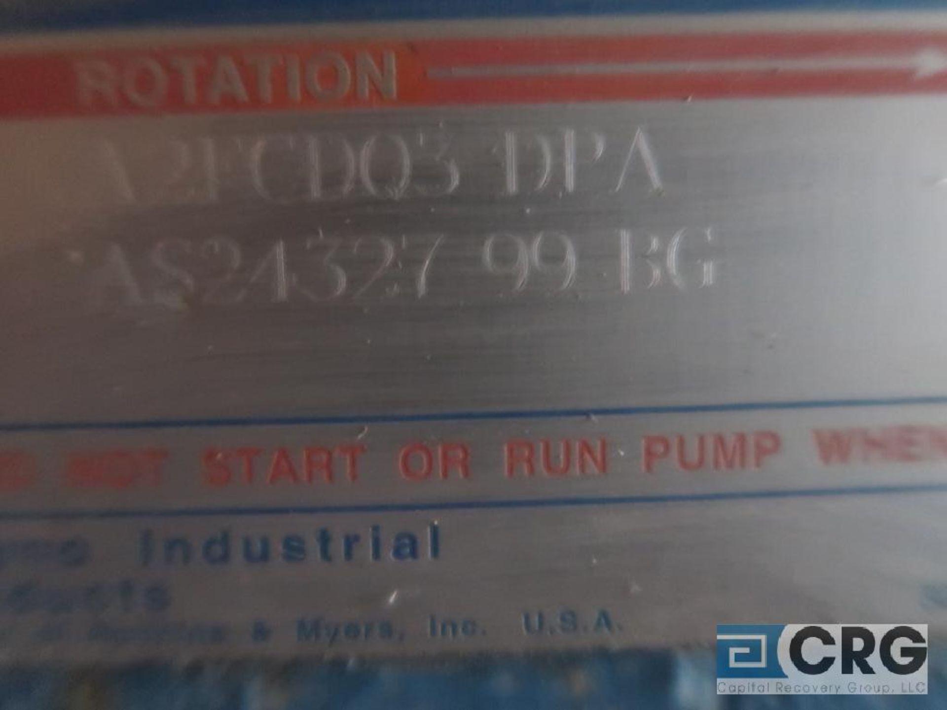 Moyno A2FCDQ3DPA progressive cavity pump with 3 HP motor, s/n AS2432799BG (Off Site Warehouse) - Image 2 of 2