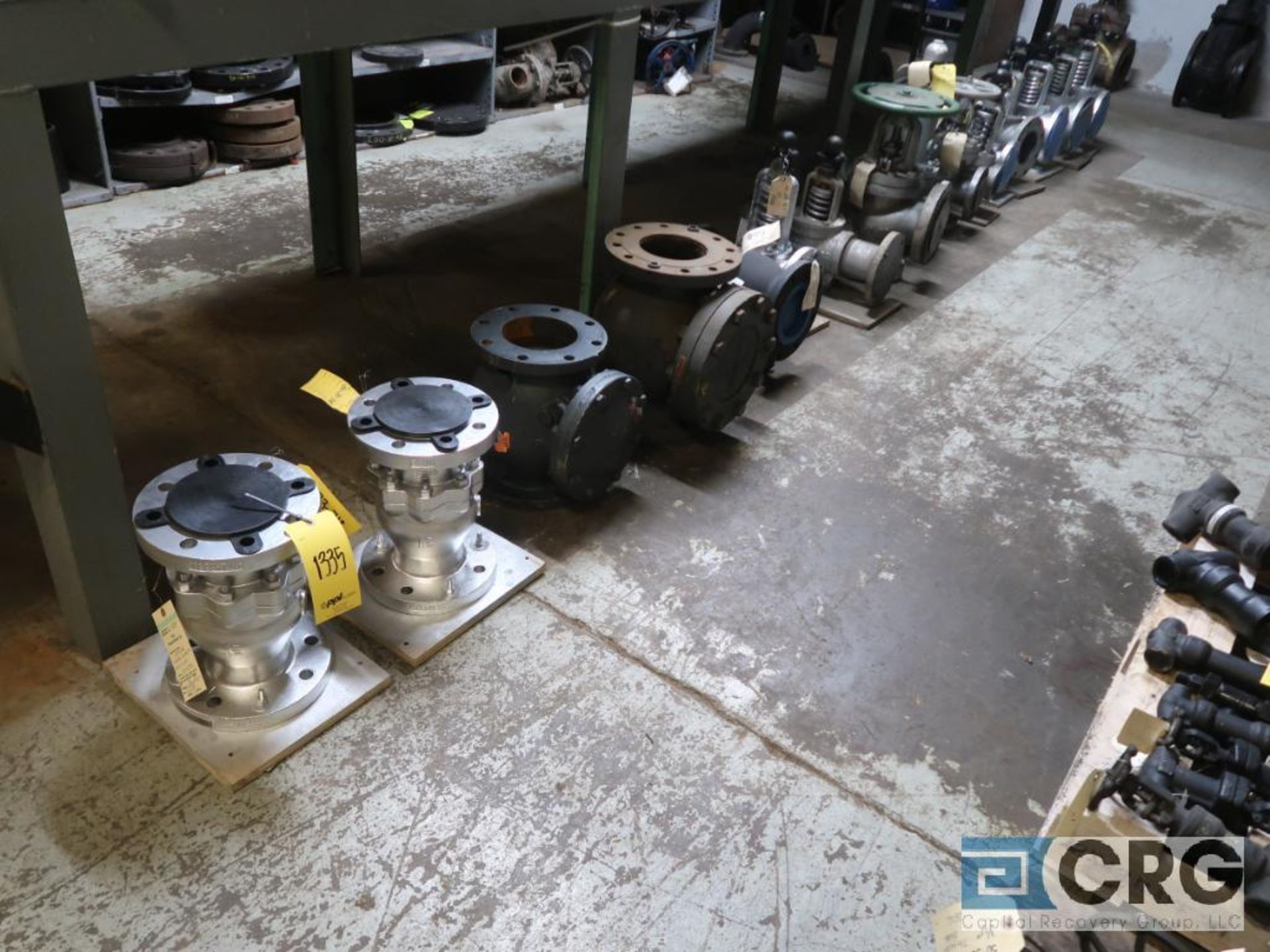 Lot of (11) safety relief valves (Store Basement)