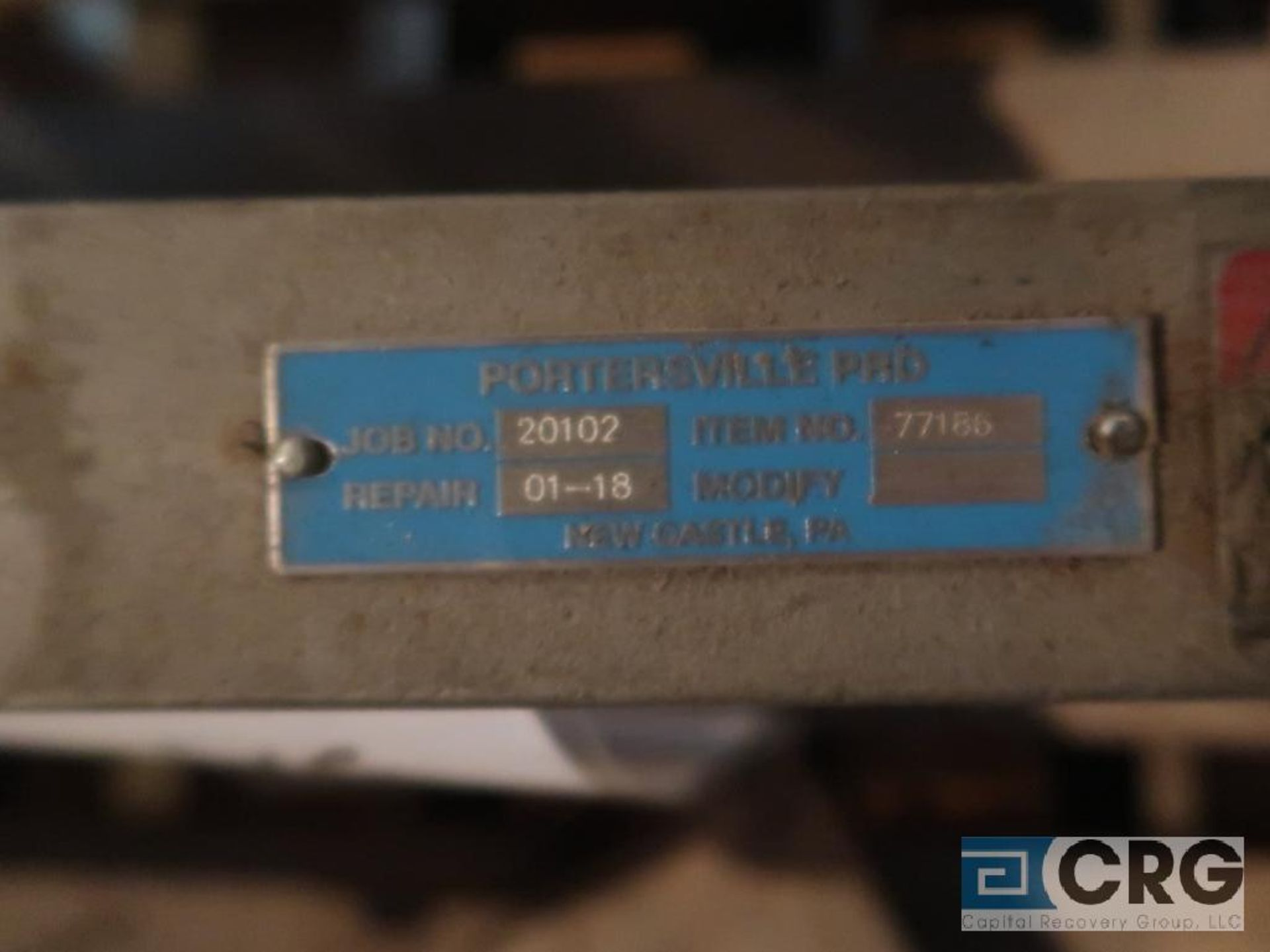 Dezurik 12 in. stainless pneumatic gate valve, 150 CWP (Off Site Warehouse) - Image 2 of 2