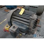 Allis-Chalmers induction motor, 75 HP, 1,770 RPMs, 220/440 volt, 3 ph., 504S frame (Finish