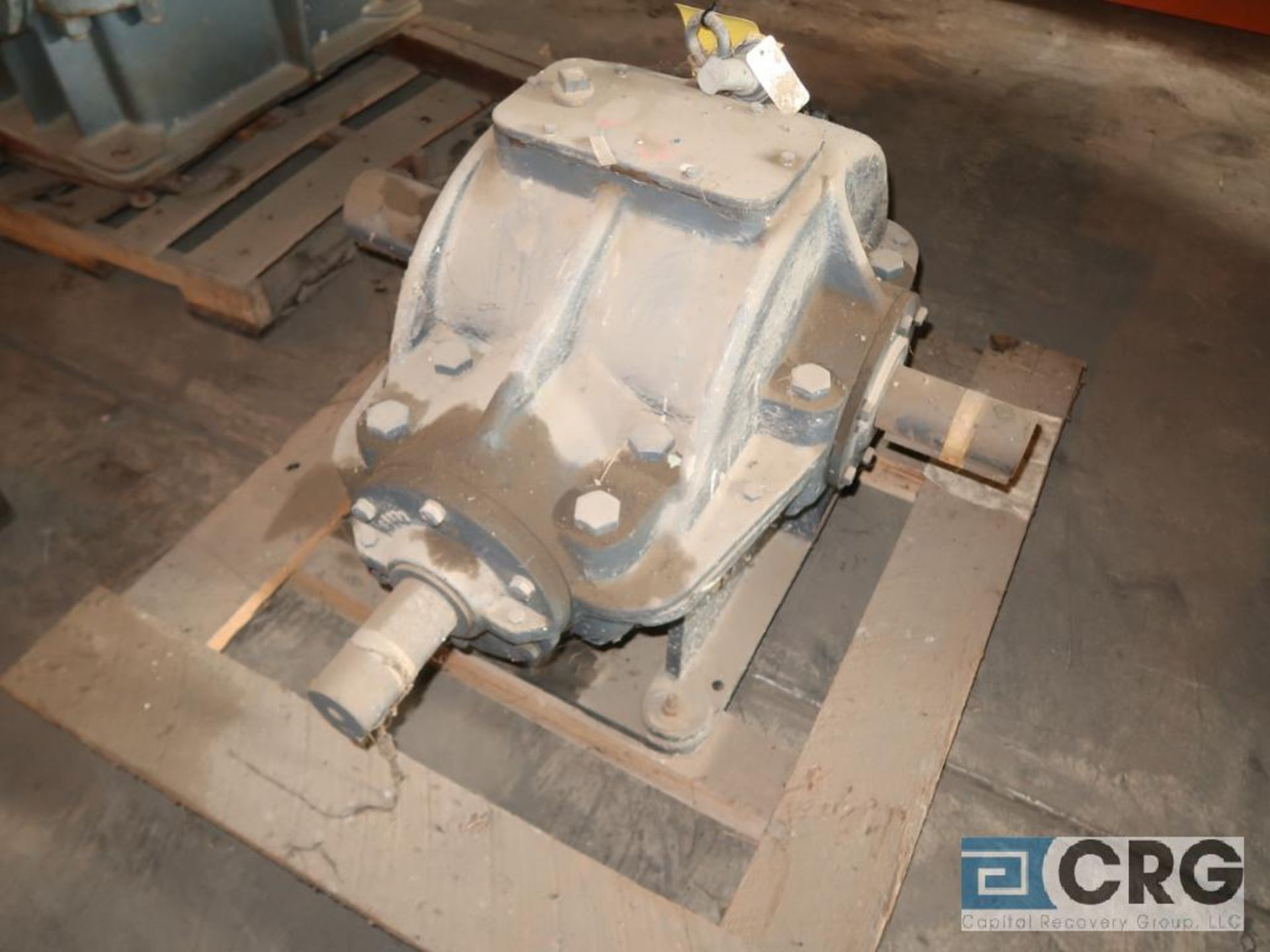 Falk 7GHB gear drive, ratio-1.905, input RPM 527.6, output RPM 277, service rate HP. 49, s/n 6682901 - Image 2 of 3