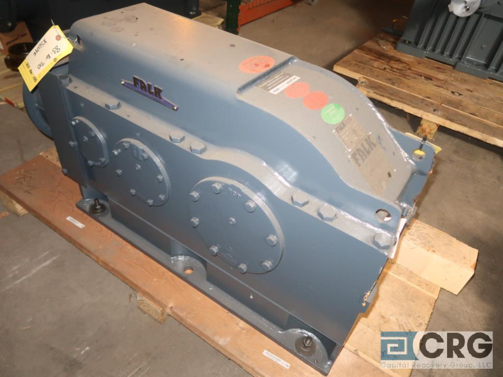 Falk 2080YB2LB gear drive, ratio-8.442, input RPM 2,153, output RPM 255.3, service rate HP. 75, s/ - Image 2 of 3