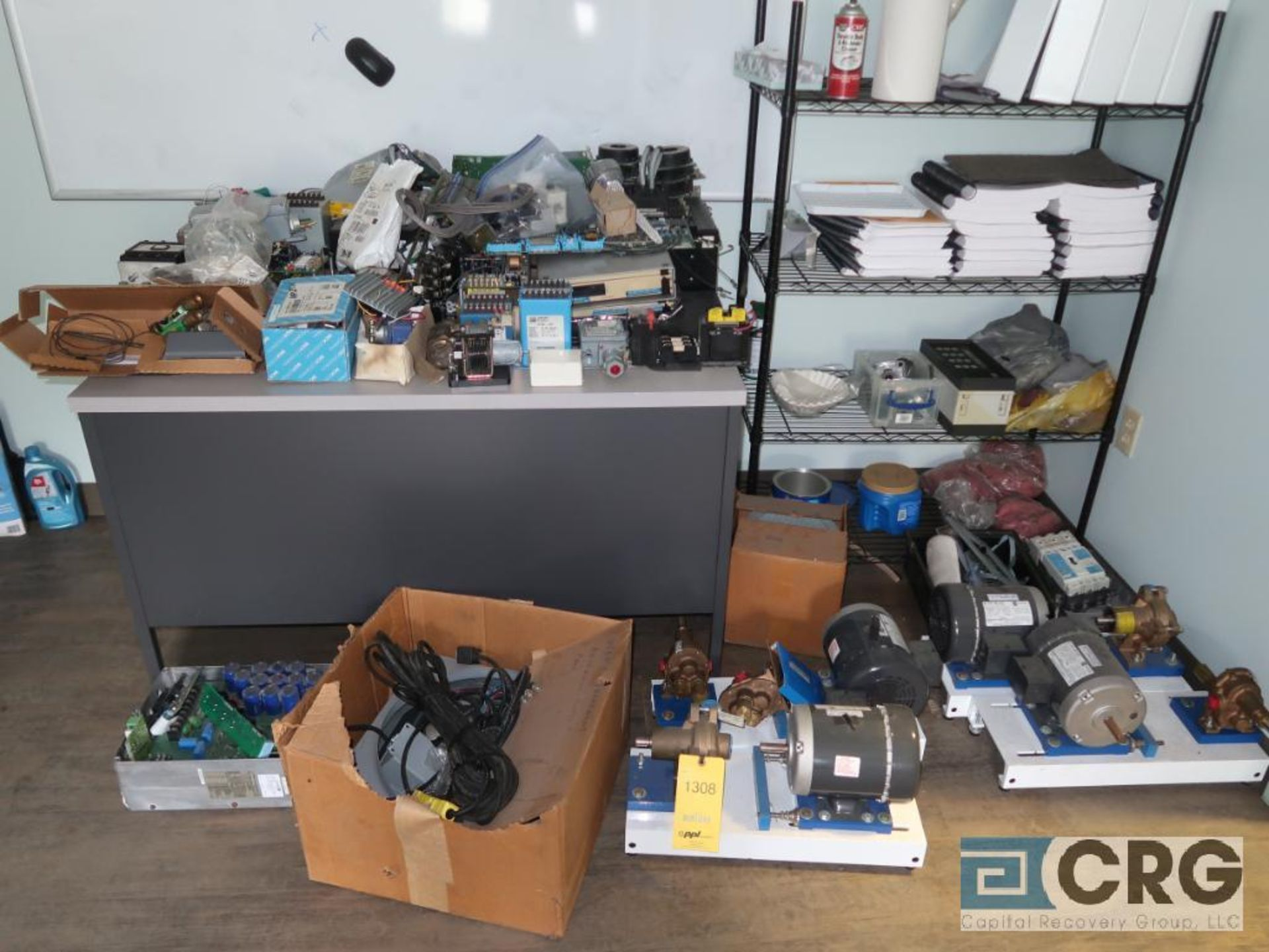Lot of miscellaneous electrical parts (Motor Building)