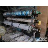 Lot of (16) paper machine rolls (Basement Stores)