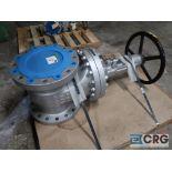 Walworth manual valve, class 300, 10 in., s/n V19C153 (496 Dock Area)