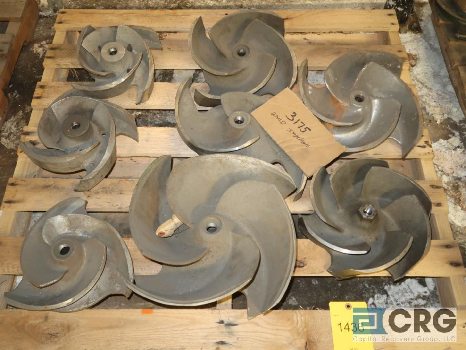 Lot of Goulds 3175 assorted impellers (Basement Stores)