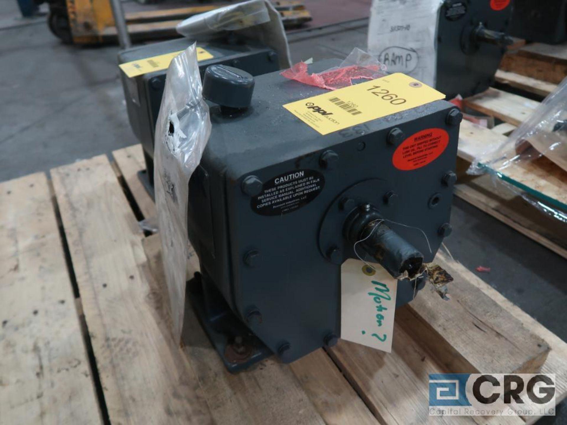 Falk 1030 FC2A gear drive, ratio 4.13, 432.31 RPM, s/n 1050 (Finish Building)