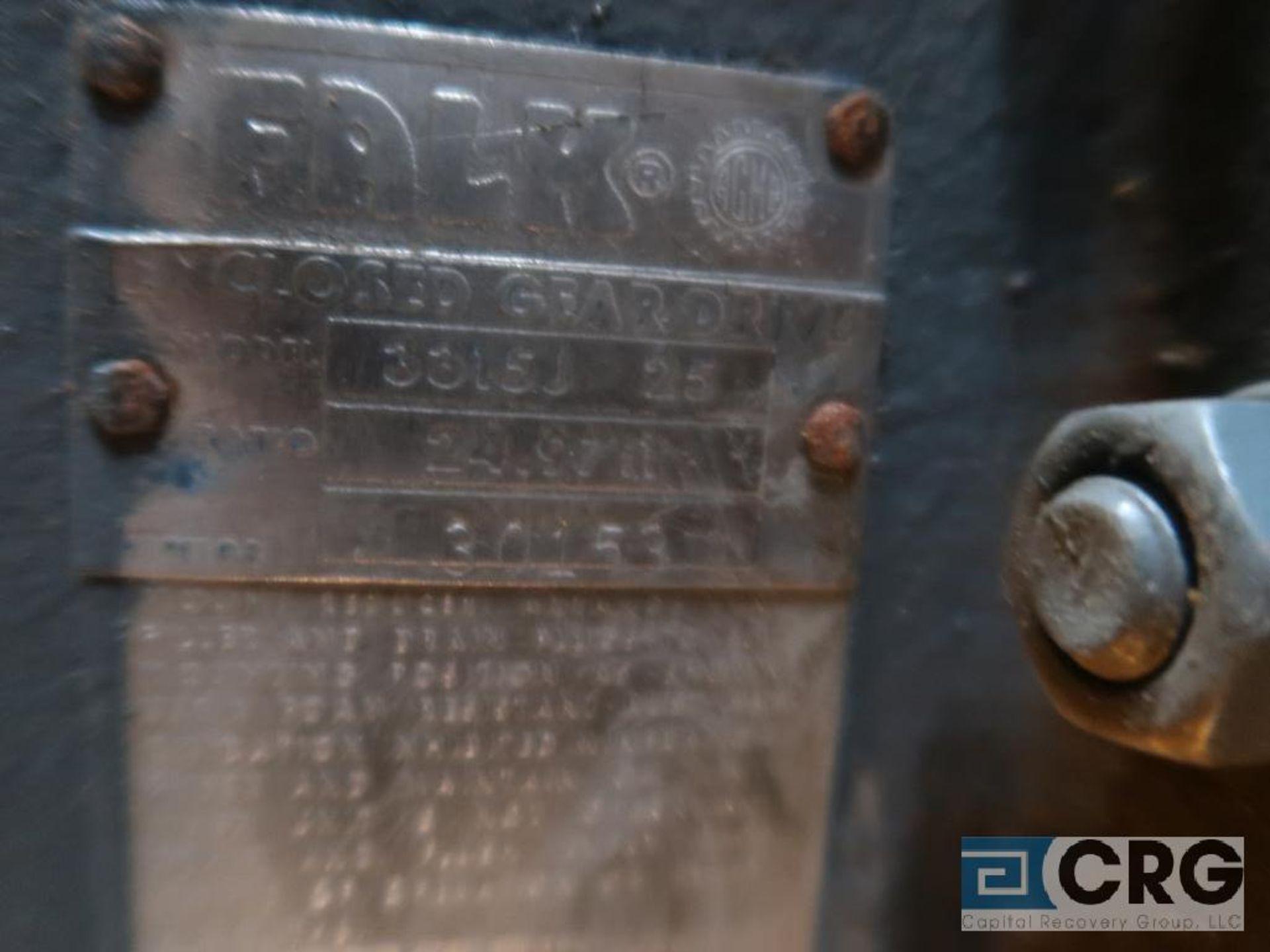 Falk 3315 J25 quadrive, ratio-24.97 (Next Bay Cage Area) - Image 2 of 2