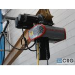 Konecranes hoist, 1/2 ton cap., with Gorbel 10 ft. long swing arm (Located by North 2nd Slitter Roll