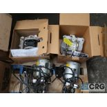 Lot of (7) assorted pumps including (2) vacuum, (2) metering, and (3) diaphragm (Basement Stores)