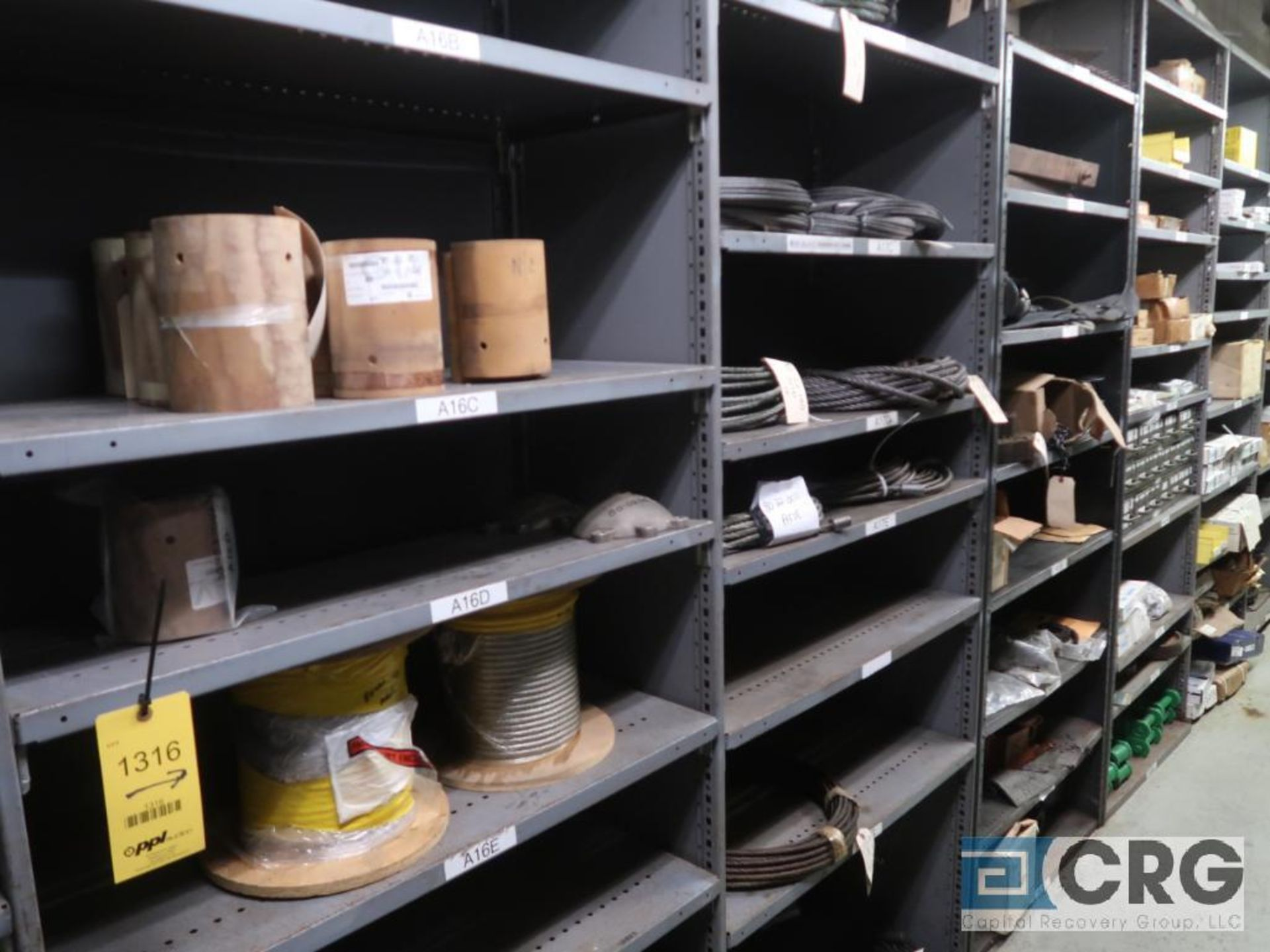 Lot of (14) sections with cable, chain, pulley, and conduit-CONTENT ONLY (Store Basement) - Image 2 of 10