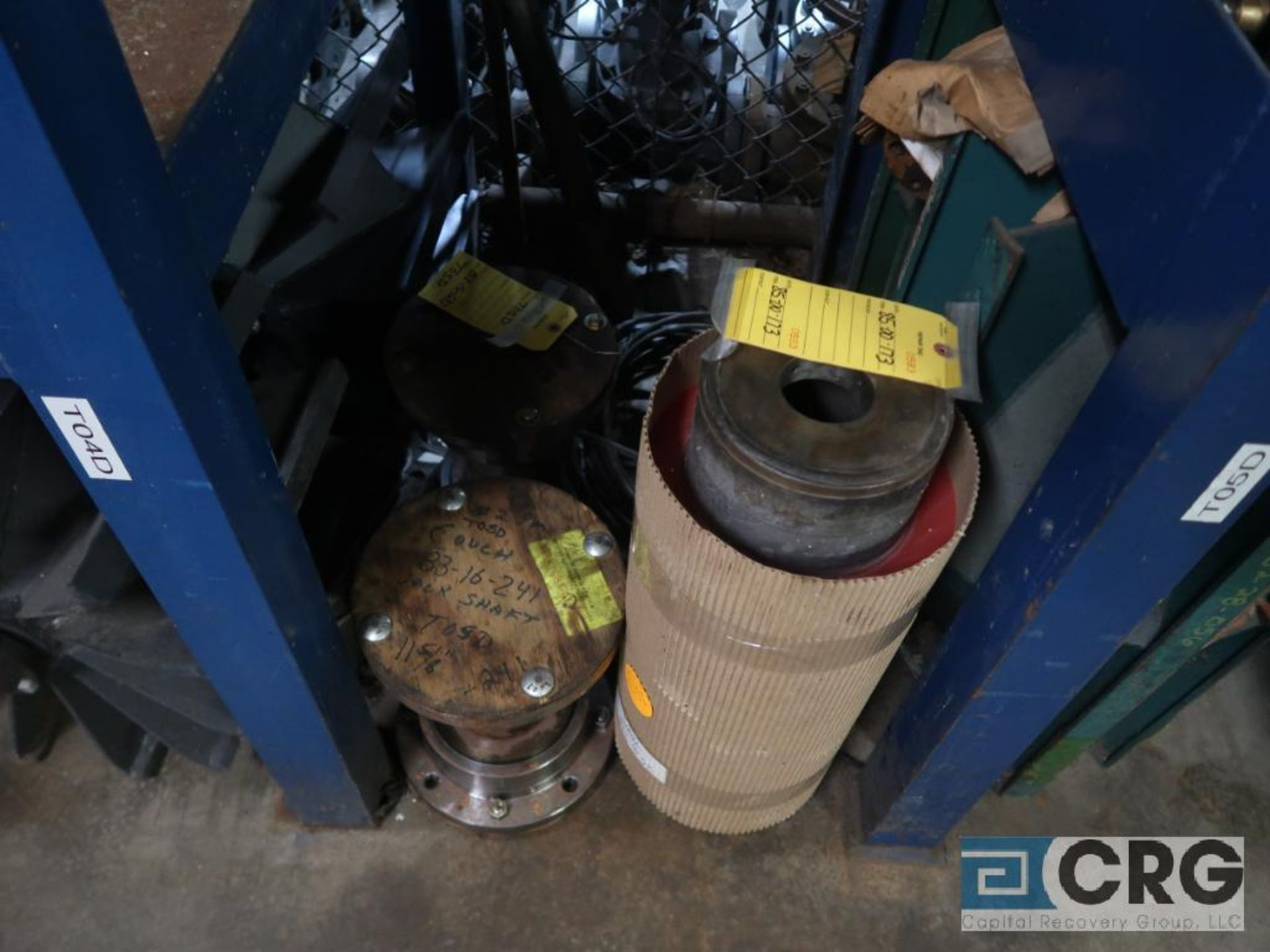 Lot of (4) sections assorted shafts, motor rotors, and ringe gauges (Store Basement) - Image 7 of 7
