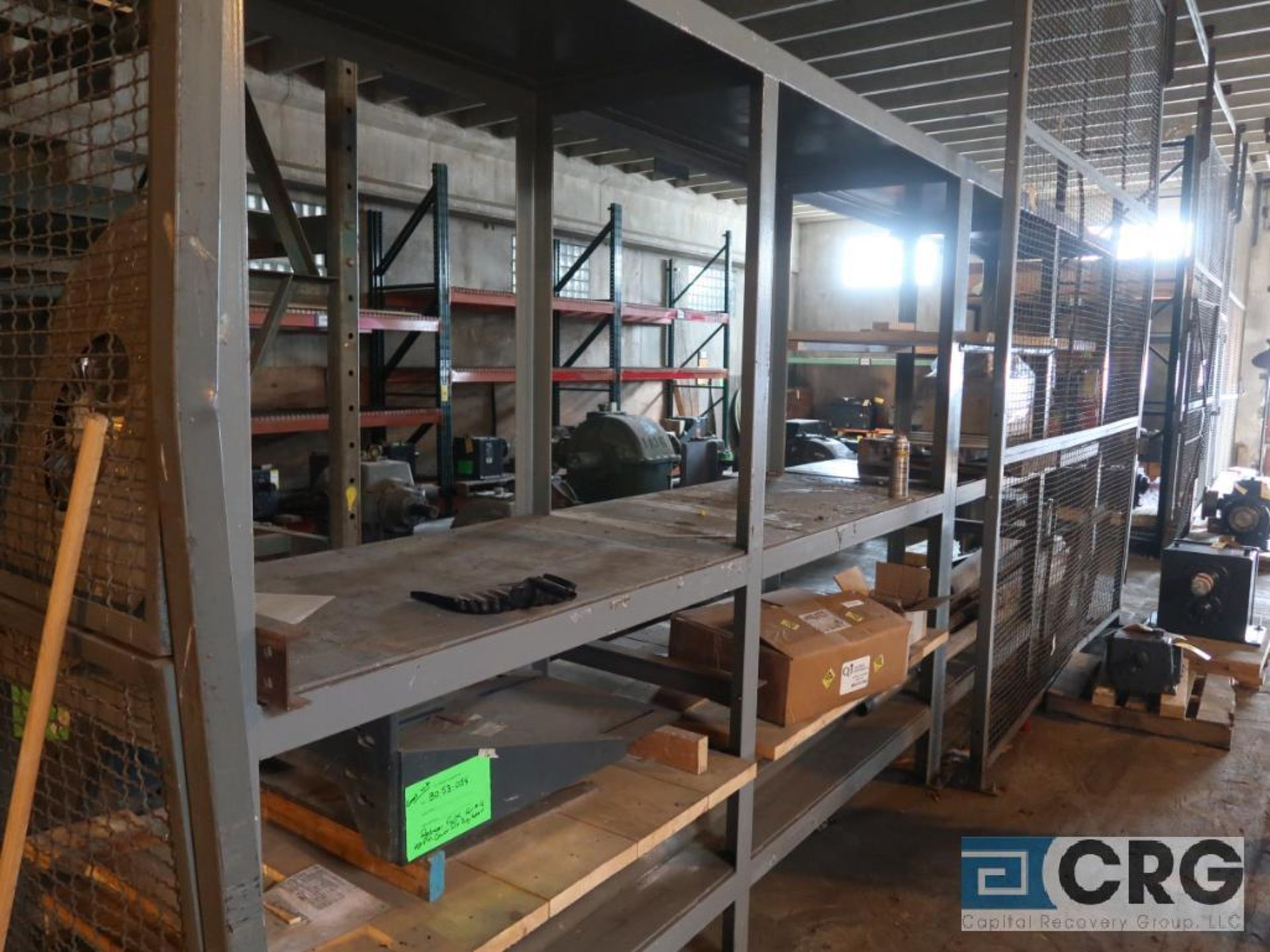 Lot of (6) sections pallet rack including (1) 6 ft. H x 30 in. W, (4) 120 in. cross bars, (4) 12 ft. - Image 2 of 5