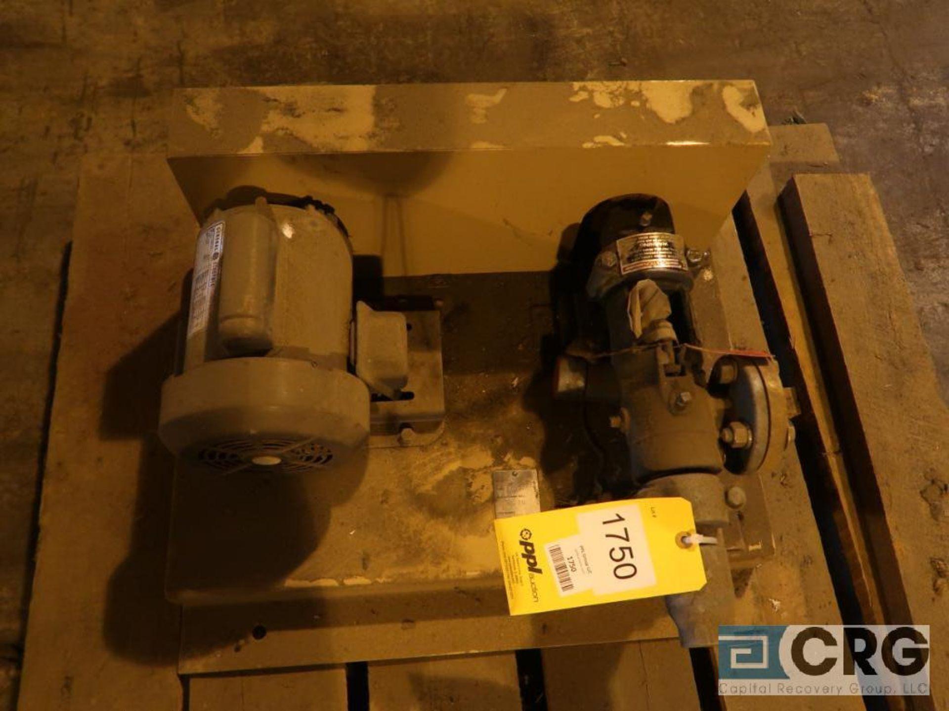 Calgon 2MI pump with 1/3 HP motor (Next Bay Cage Area)