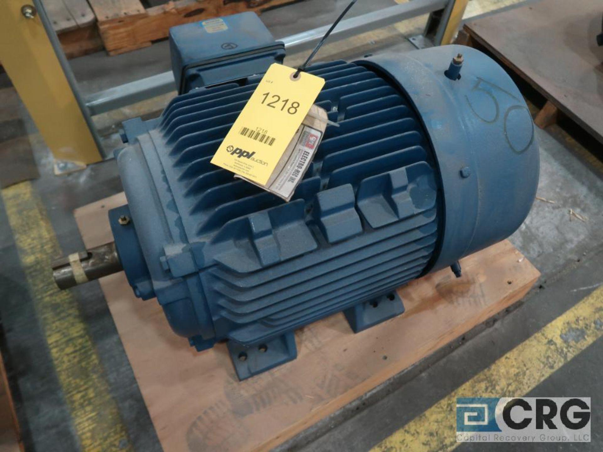 Siemens PE-21 PLUS motor, 50 HP, 3,530 RPMs, 460 volt, 3 ph., 326TS frame (Finish Building)