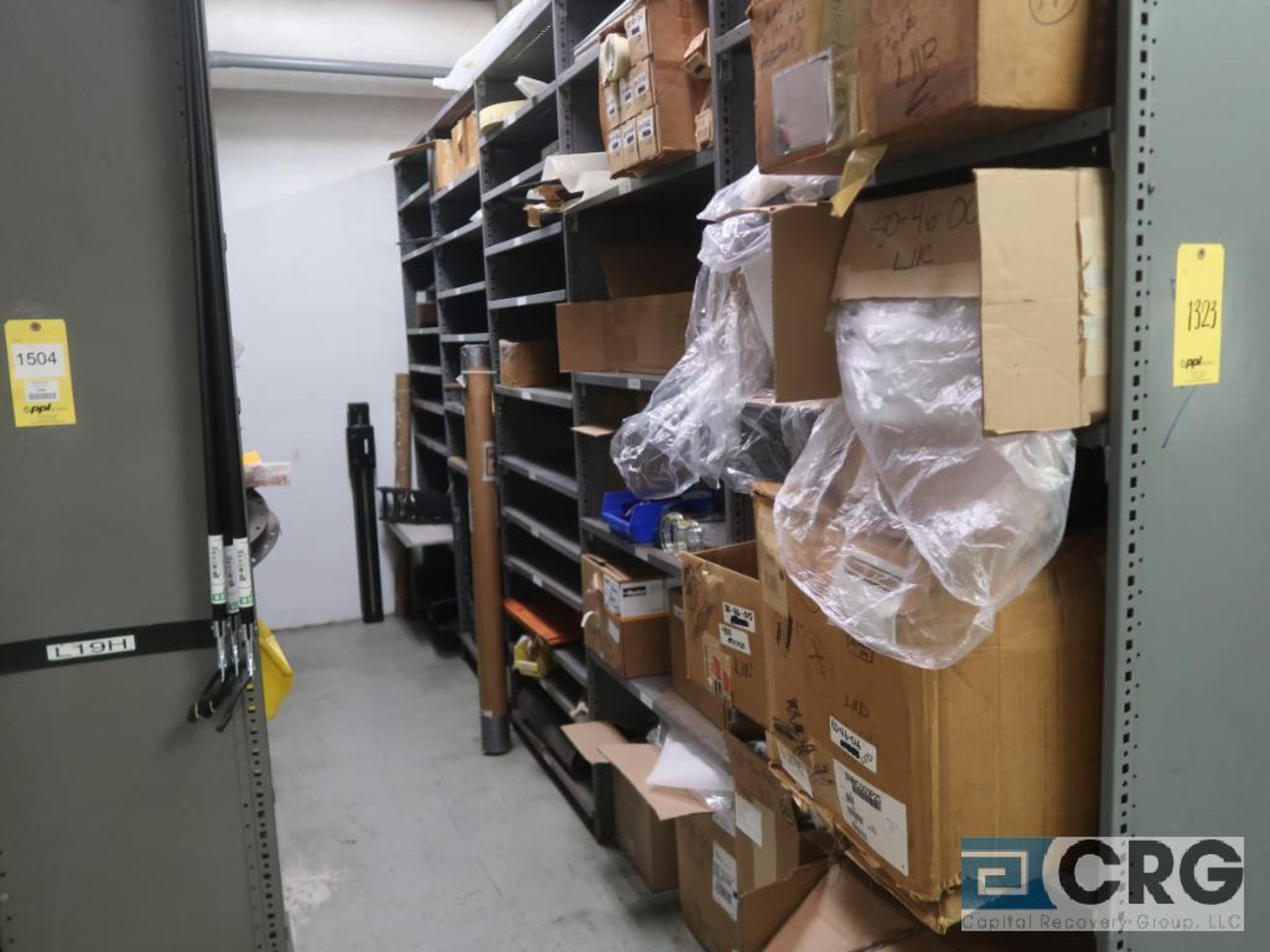 Lot of (135) sections metal shelving (Front of Stores Area) - Image 2 of 9