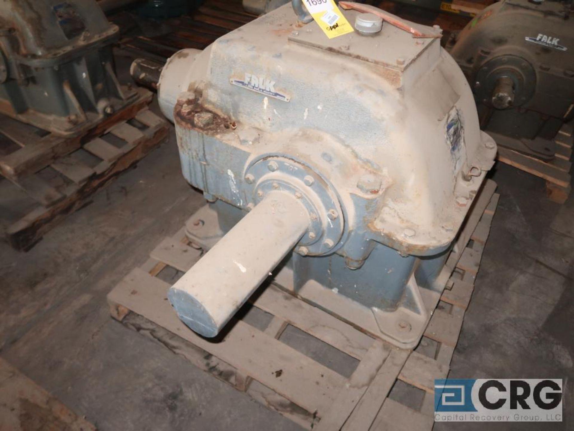 Falk 2100 GH81 KS gear drive, ratio-2.455, input RPM 403, output RPM 164, service rate HP. 232, s/