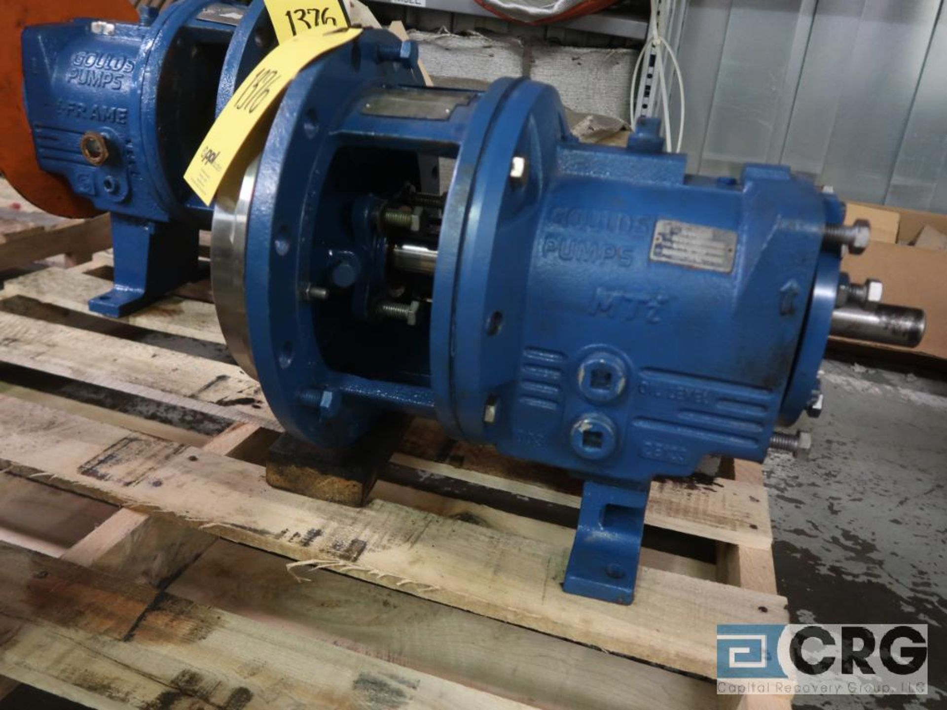Lot of (3) Goulds 3196 10 in. pumps, (2) MT, and (1) MTX (Basement Stores) - Image 3 of 4
