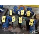 Lot of (7) Goulds pumps, assorted sizes (Basement Stores)