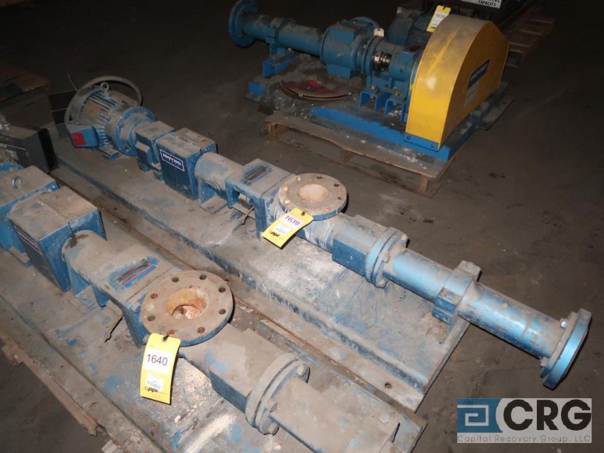 Moyno A2FCDQ3DPA progressive cavity pump with 3 HP motor, s/n AS2432799BG (Off Site Warehouse)