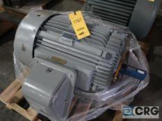 Teco Westinghouse MAX-E1 motor, 100 HP, 1,775 RPMs, 230/460 volt, 3 ph., 405T frame (Finish