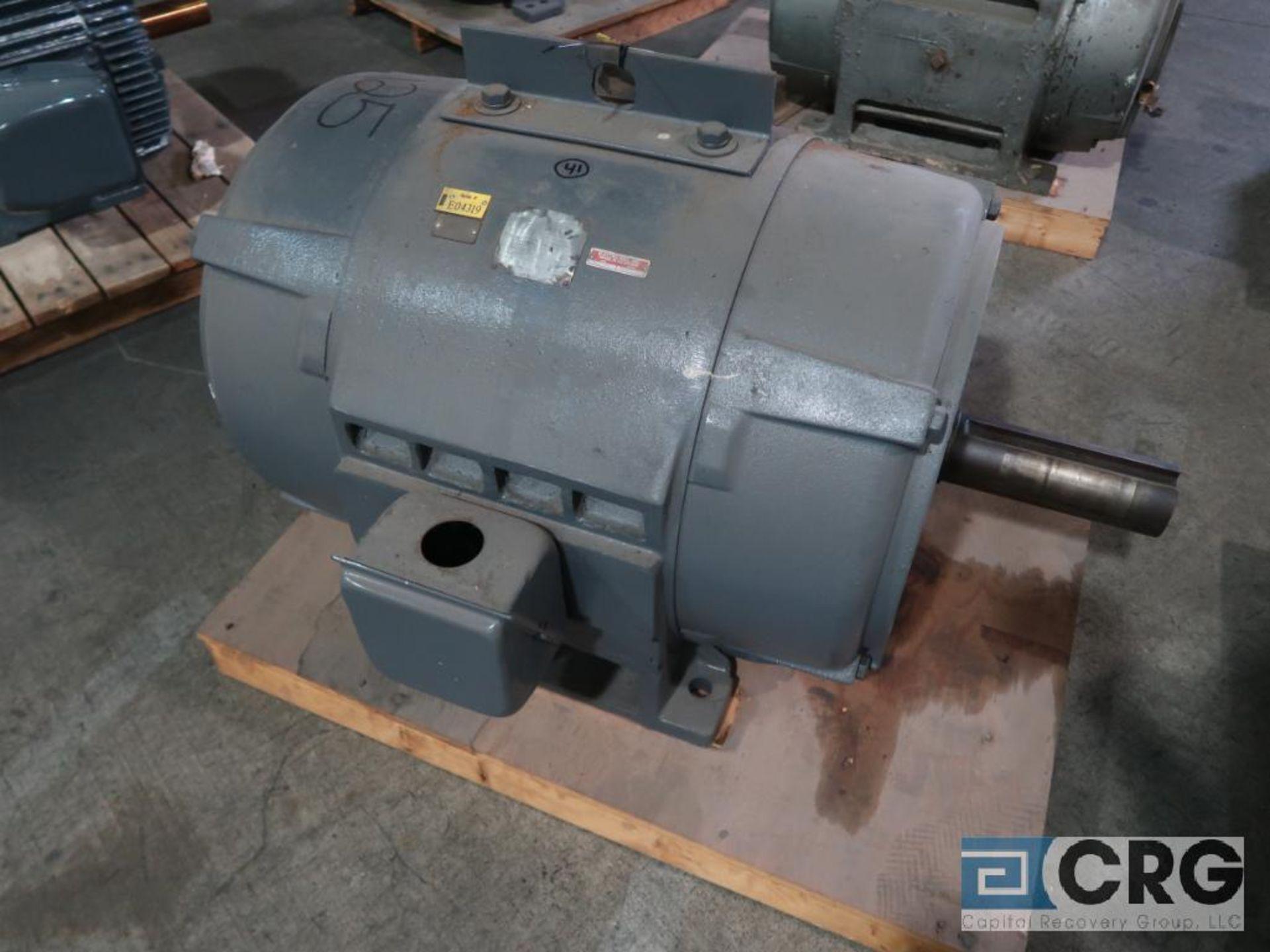 Westinghouse Life-Line A motor, 125 HP, 1,180 RPMs, 440 volt, 3 ph., 505-U frame (Finish Building)
