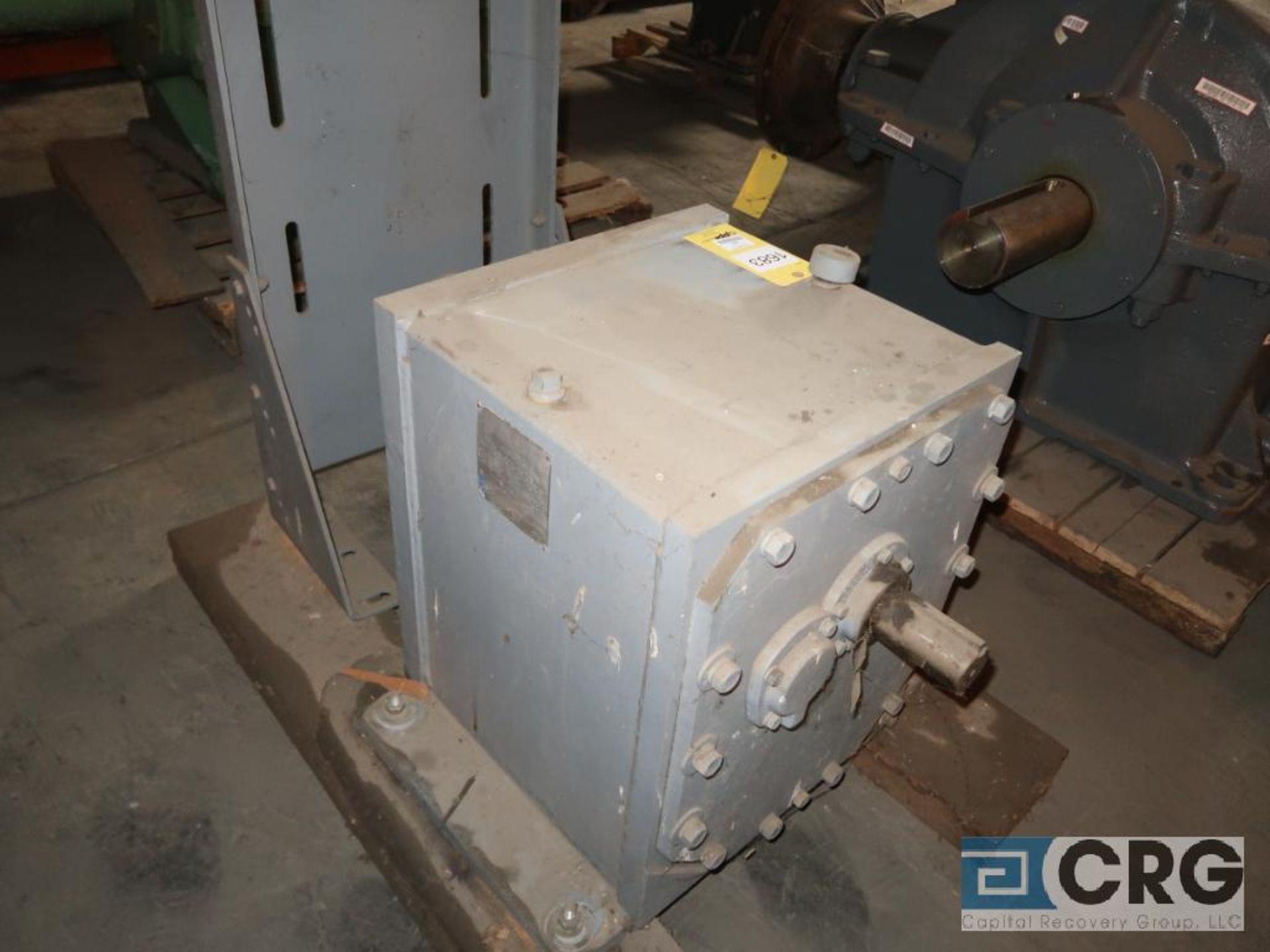 Falk 501 1090 FZ 3A gear drive, ratio 45.75, RPM 1,750, service rate HP. 75, s/n 20158 (Next Bay