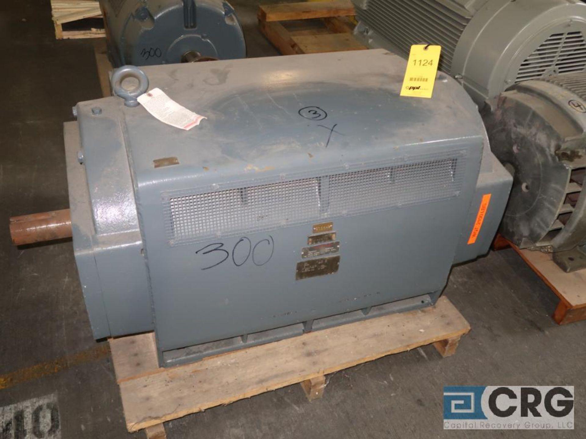 U.S. Electrical electric motor, 300 HP, 3,570 RPMs, 2,300 volt, 3 ph., 5009S frame (Finish