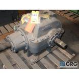 Falk 2090 GHB1 KS gear drive, ratio 1.481, input RPM 442, output RPM 298, service rate HP. 32 BHP