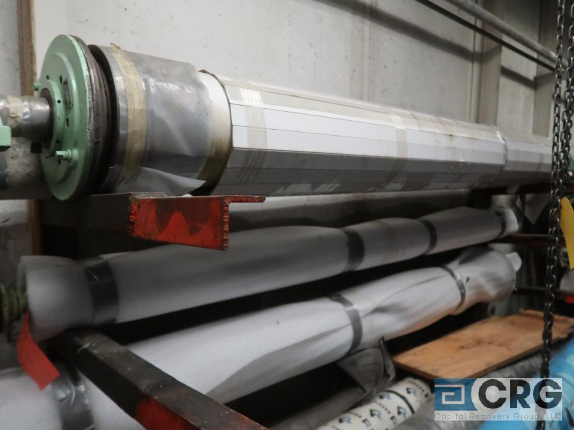 Lot of (16) paper machine rolls (Basement Stores) - Image 2 of 2