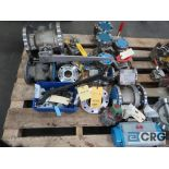 Lot of (14) assorted stainless ball valves (Finish Building)