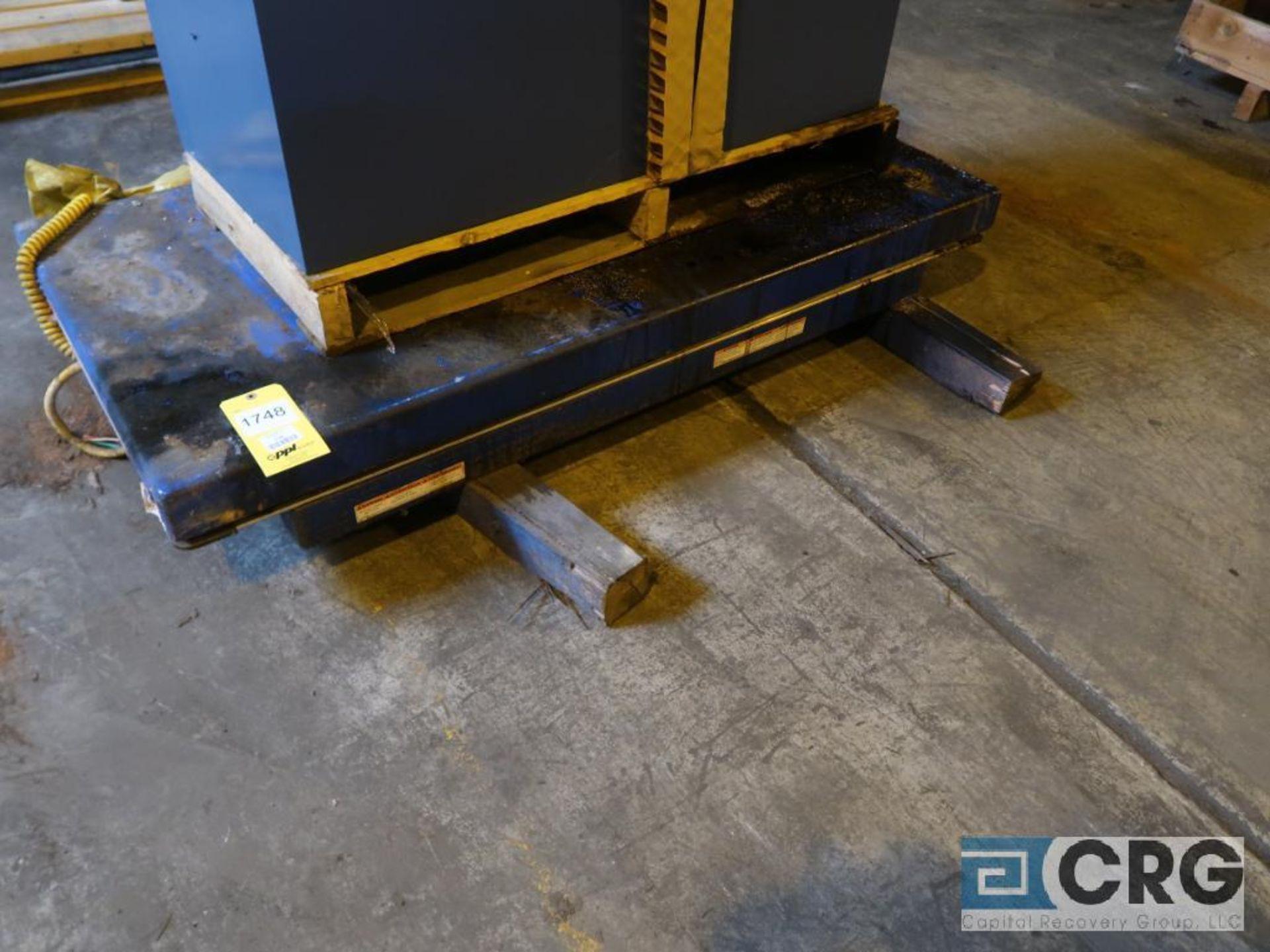Vestic hydraulic platform lift, 30 x 60, 3,000 lb. cap. (Next Bay Cage Area)