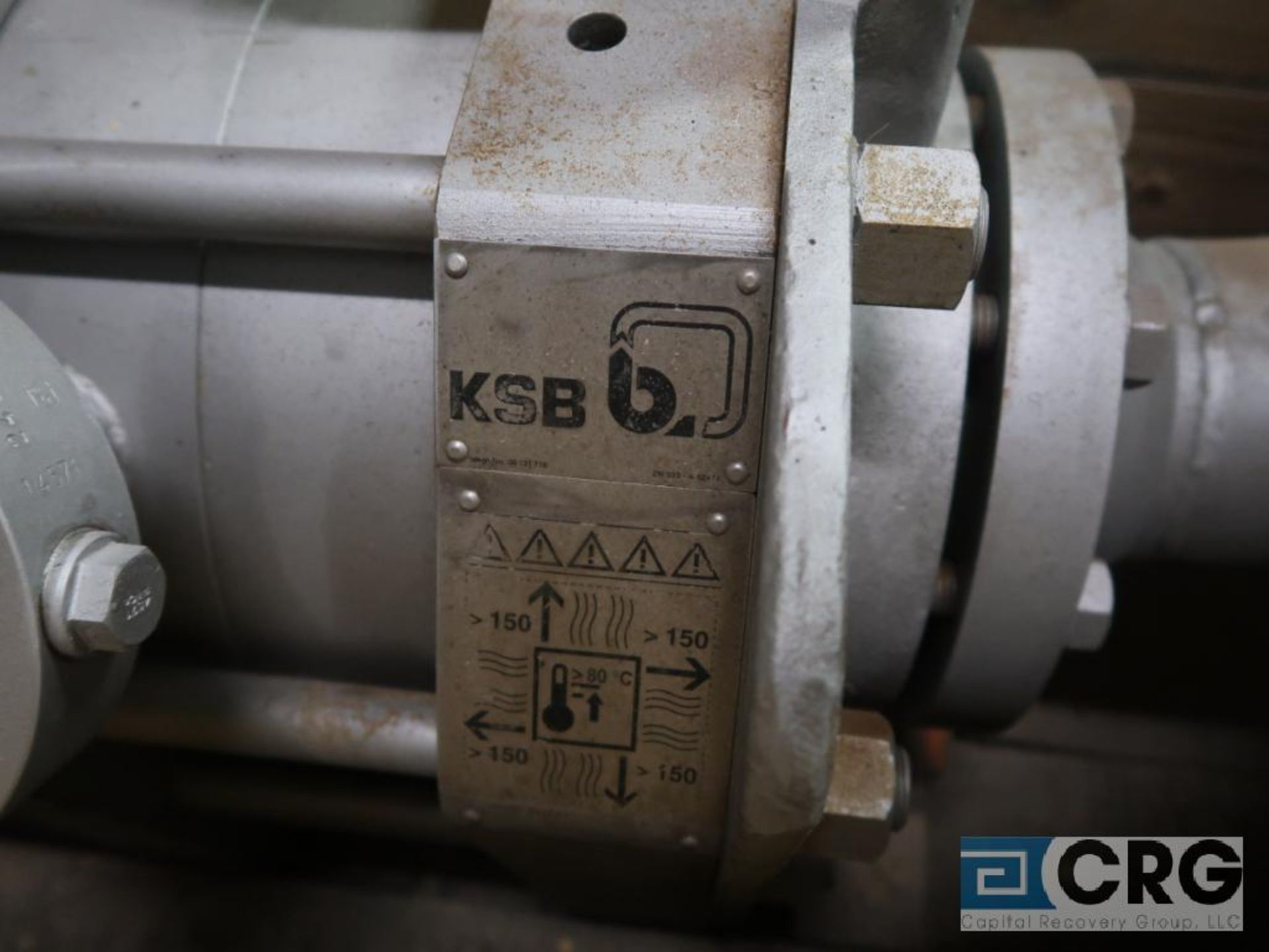 KSB H3M 3/5 feed water pump, 360 GPM (Basement Stores) - Image 5 of 5