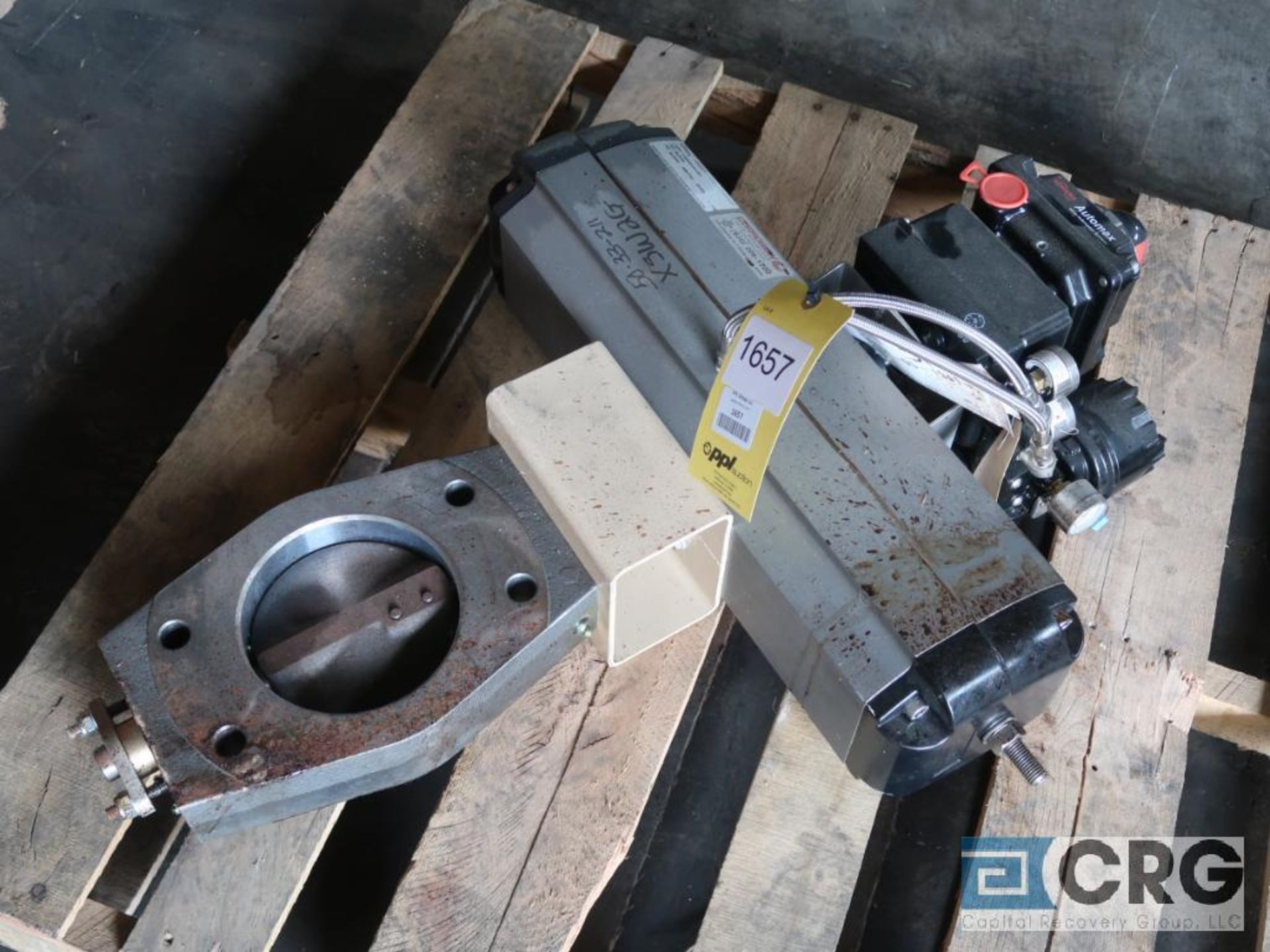 FlowServe 6 in. pneumatic butterfly valve (Off Site Warehouse)