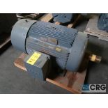Siemens electric motor, 200 HP, 1,785 RPMs, 460 volt, 3 ph., B44TT frame (Finish Building)