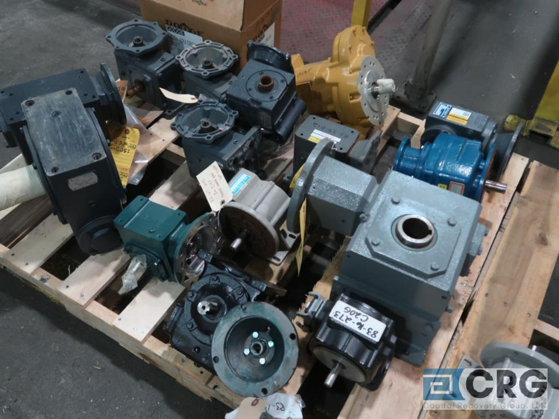 Lot of (20) gear drives with motors, various HPs (Finish Building) - Image 2 of 2