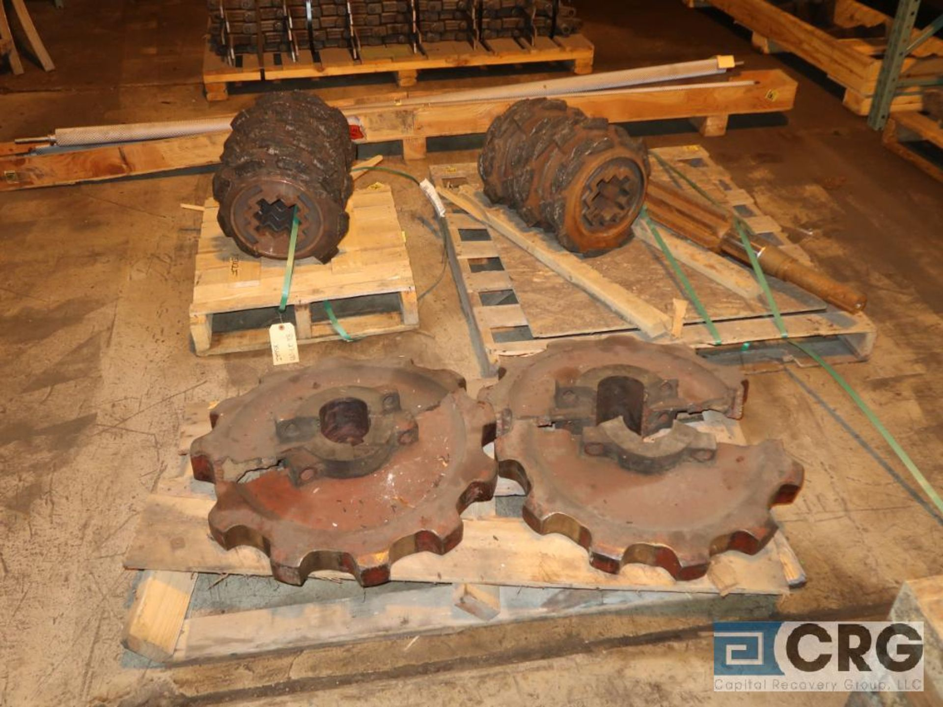Lot of assorted parts for debarker, coal, and chipper on (29) pallets (Next Bay Cage Area) - Image 13 of 17